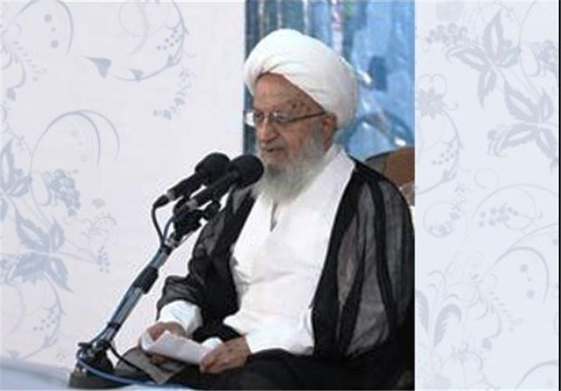 المرجع الدینی مکارم الشیرازی: علینا أن نصمد أمام مخططات الاعداء بکل قوة واقتدار