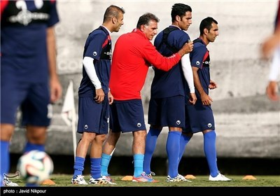 Iran's National Football Team Camp in Brazil