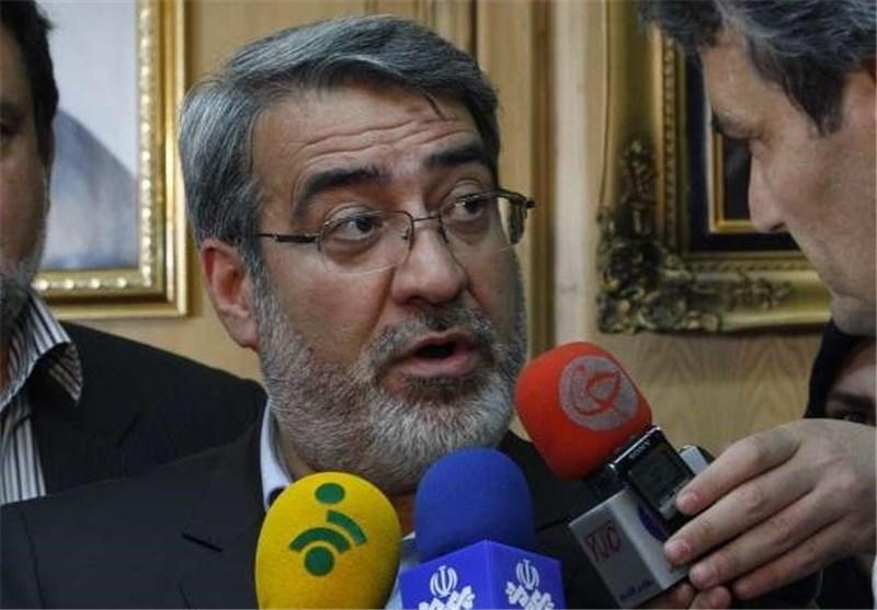 وزیر الداخلیة: حدود ایران الاسلامیة لاتواجه أی تهدید والامن قائم فی الحدود