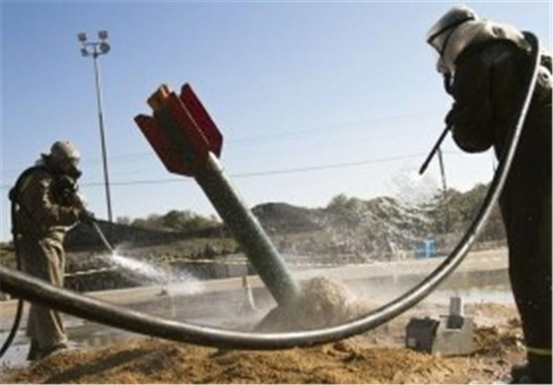 سقوط صاروخ على ساحل عسقلان وجیش الاحتلال یقصف وسط قطاع غزة