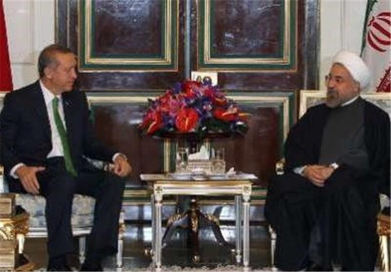 رئیس الجمهوریة یستقبل رئیس الوزراء الترکی