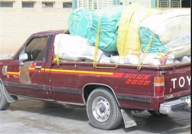 کشف کالای قاچاق در مهرستان