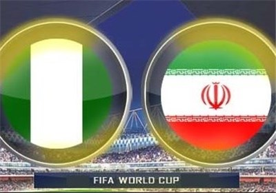 دیدار ایران - نیجریه در هوای ابری