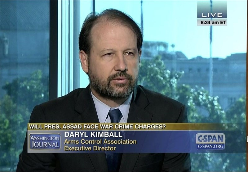 داریل کیمبال، مدیر انجمن کنترل تسلیحات آمریکا