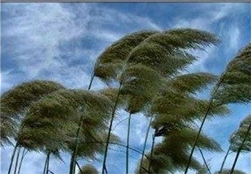 وزش باد شدید