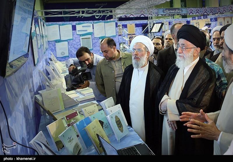 Supreme Leader Visits Cultural Exhibition in Tehran