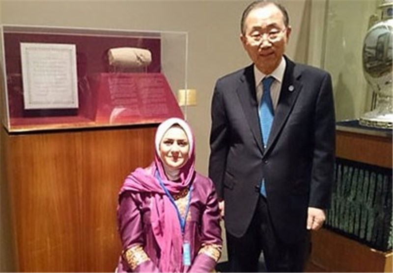 Iran's Paralympic Gold Medalist Nemati in UN