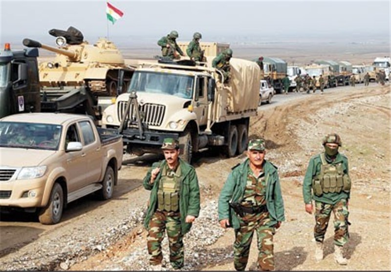 Iraqi Kurdish Forces Enter Syria to Fight ISIL
