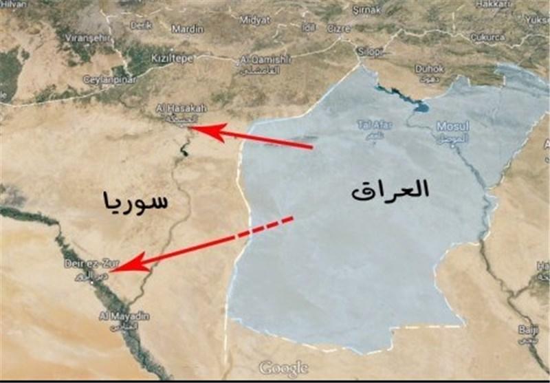 """محافظة الحسکة السوریة فی خطر بعد سیطرة """" داعش """" على معبر الیعربیة الحدودی مع العراق"""