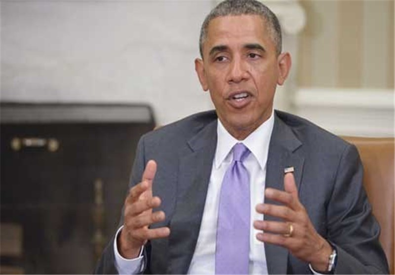 أوباما : ینبغی التحرک عسکریا وبشکل فوری وقصیر المدى فی العراق