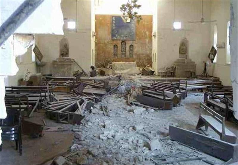 """""""داعش"""" یفجر کنائس نینوى والعشائر العراقیة تعلن النفیر العام"""