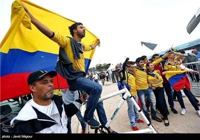 علی هامش المسابقات الدولیة لکرة القدم فی البرازیل