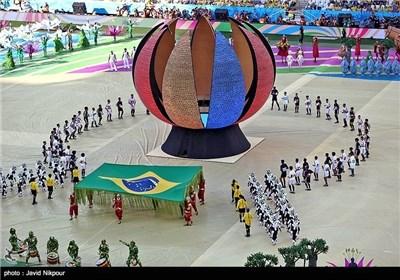 العرس الکروی العالمی الـ 20 ینطلق فی البرازیل