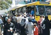 350 اتوبوس و مینیبوس غیرمجاز در قم مشکلاتی را برای مردم ایجاد کرده است