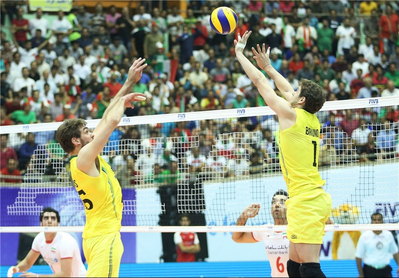 Iran Suffers Defeat against Brazil in FIVB World League