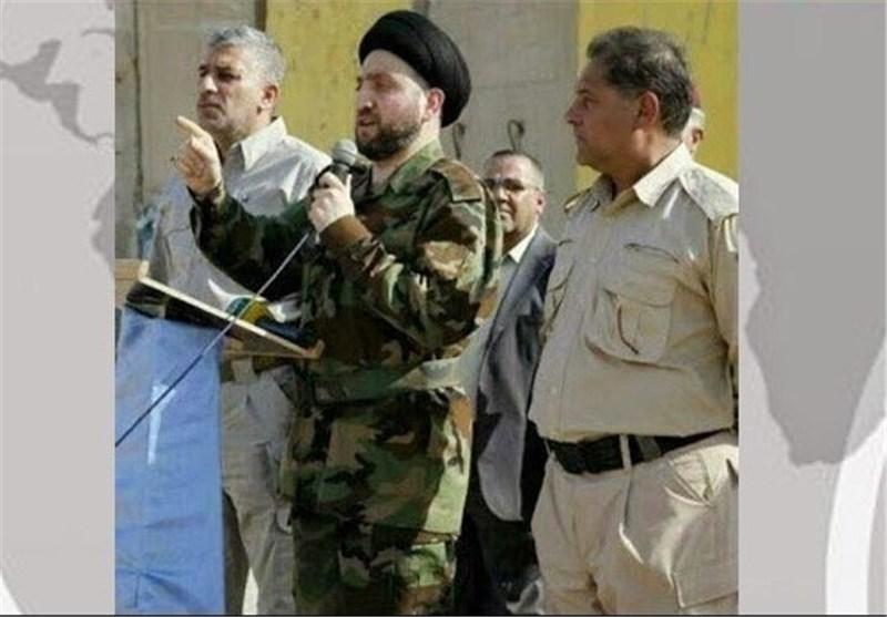 الحکیم : لن نترک السلاح حتى نقضی على عصابات داعش ومن اشعلوا النار سیحترقون فیها
