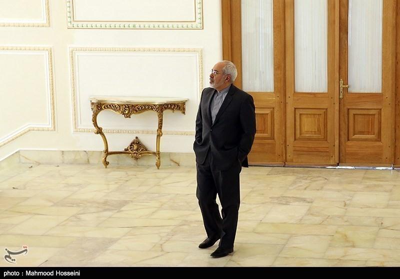 Iran's Zarif, South Africa's Int'l Relations Minister Meet in Tehran
