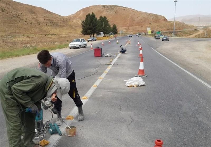 1500 کیلومتر از راههای استان کردستان ایمنسازی شد