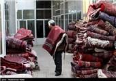 مرکز صادرات فرش ایران به آمریکا دیگر رونق ندارد؛ سایه رکود بر بازار فرش همدان+ فیلم