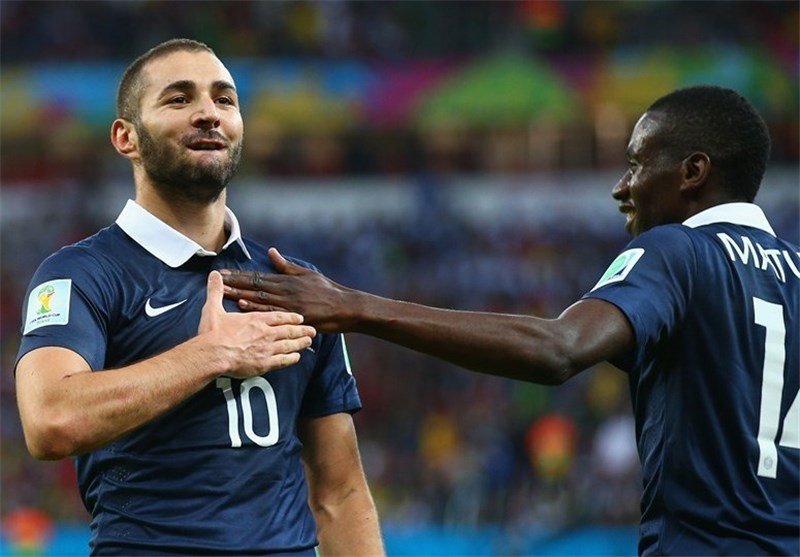 France Easily Beats 10-Man Honduras