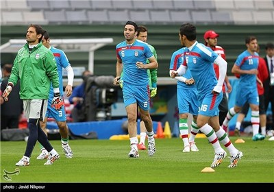 Iran's National Football Team Ready to Face Nigeria