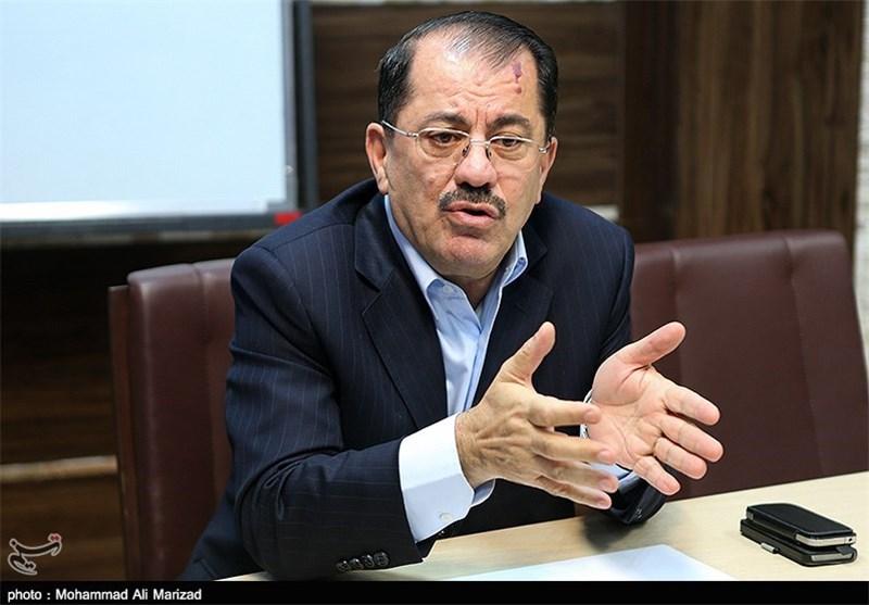 ناظم دباغ : بارزانی بحث مع المسؤولین الایرانیین وساطة طهران بین بغداد وکردستان العراق