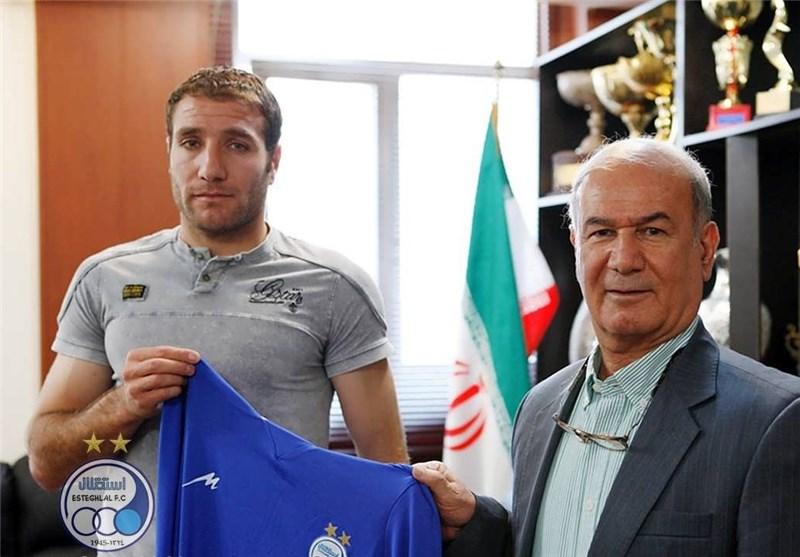 Hrayr Mkoyan Joins Esteghlal Football Team