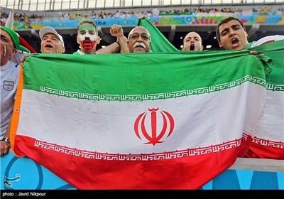 علی هامش مباراة المنتخبین الوطنیین الایرانی و النیجری