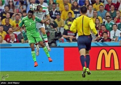 المنتخبان الایرانی والنیجیری یتعادلان بدون اهداف فی موندیال البرازیل (2)