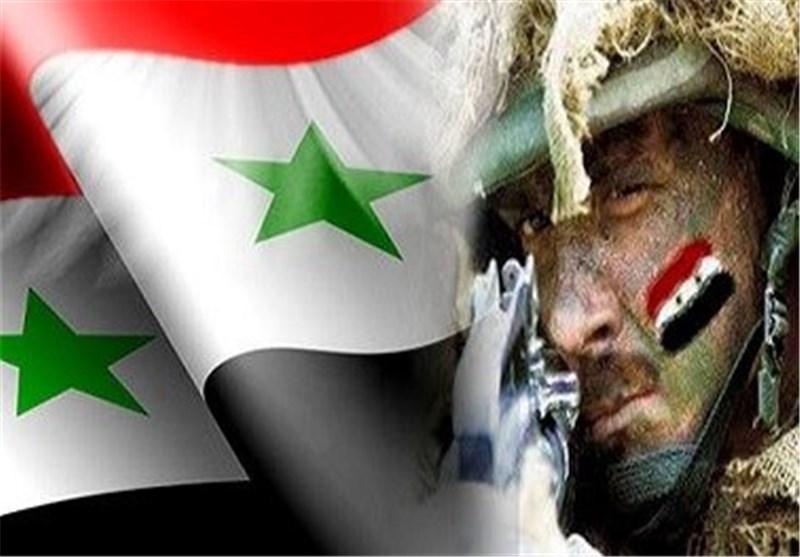 """الجیش السوری یقضی على 15 إرهابیاً من تنظیم """" جبهة النصرة """" ویدمر أسلحتهم"""