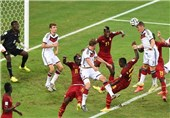 World Cup 2014: Ghana 2–2 Germany
