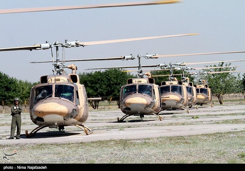145 فروند بالگرد ارتش آماده اعزام به مناطق زلزلهزده شدند + جزئیات
