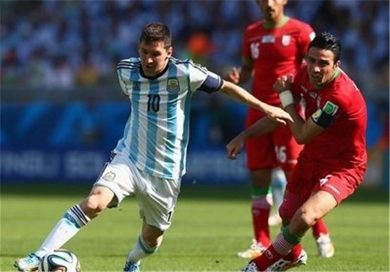 مباراة ايران والارجنتين
