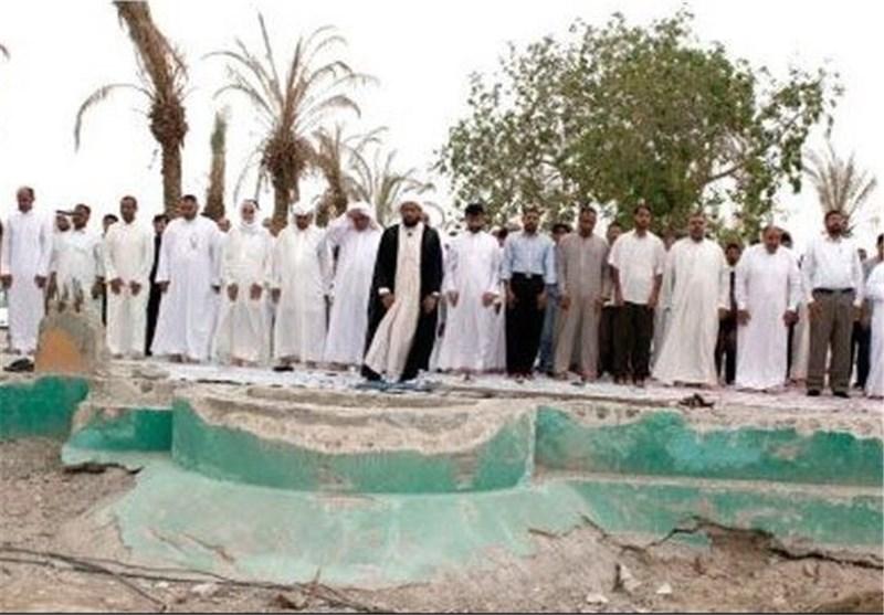 البحرینیون یواصلون اقامة الصلوات فی المساجد المهدّمة