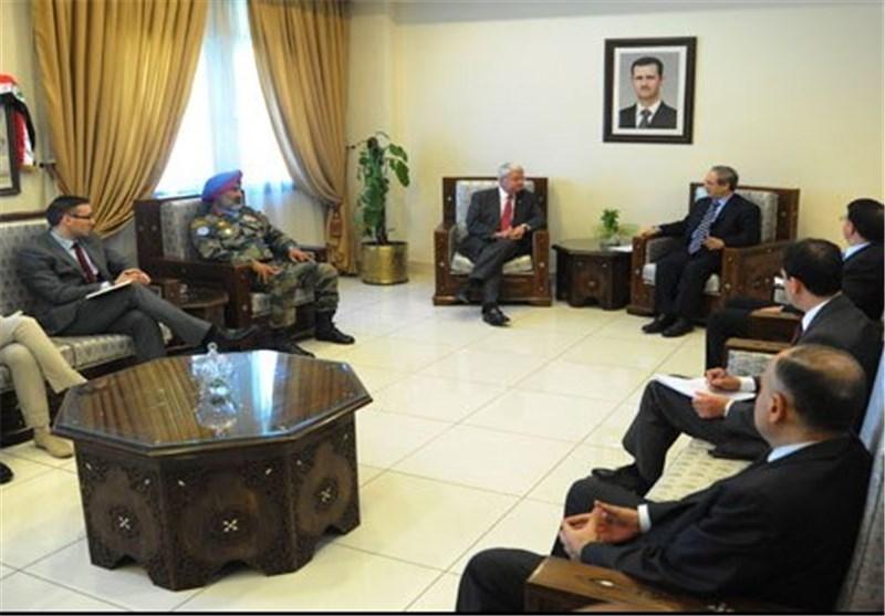 فیصل المقداد: سوریا ملتزمة بالواجبات المترتبة علیها بموجب اتفاقیة فصل القوات لعام 1974