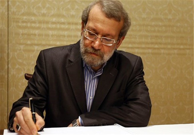 علی لاریجانی پیام