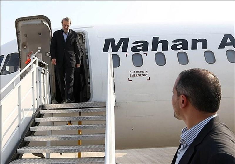 لاریجانی به تهران بازگشت