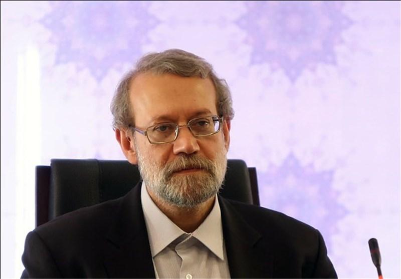 لاریجانی یهنیء انتخاب الجبوری رئیسا للبرلمان العراقی