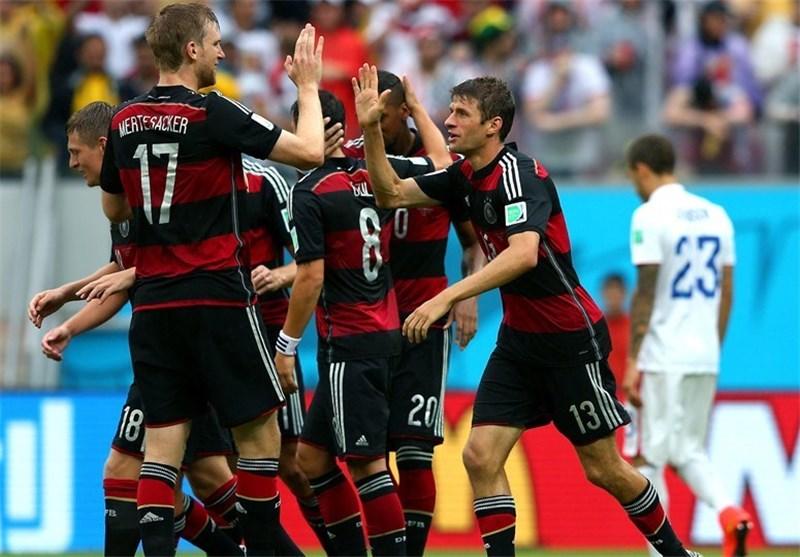 Germany Edges US, but US Advances