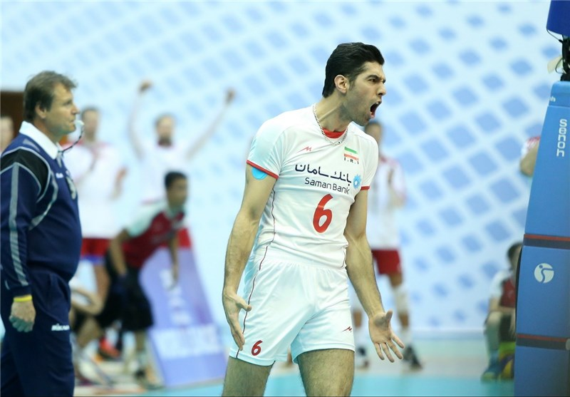 Iran Sweeps Poland in FIVB Volleyball World League