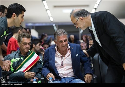 Team Melli Returns from World Cup