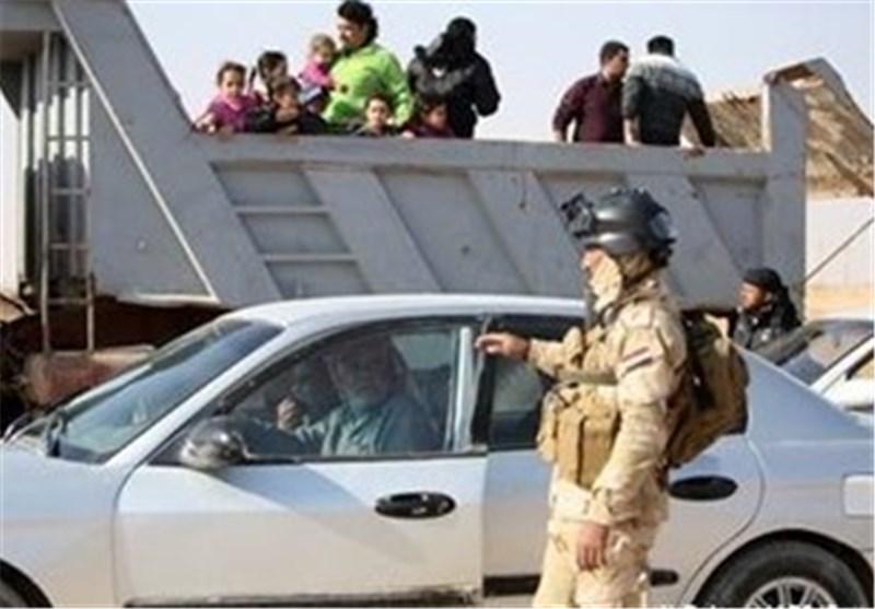 """القوات الامنیة على حدود کربلاء تعتقل """"دواعش"""" اختفوا داخل صنادیق کارتونیة"""