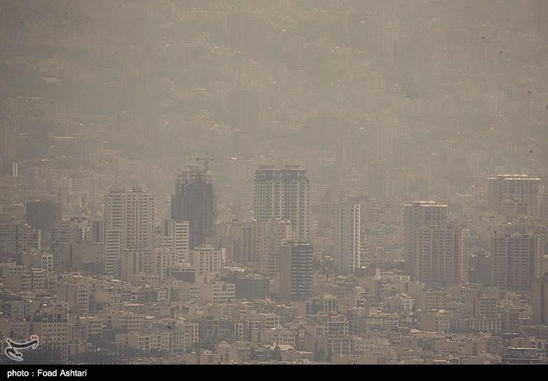 هوای غبار آلود تهران