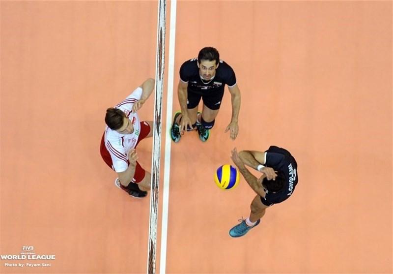 لیگ جهانی والیبال ایران لهستان