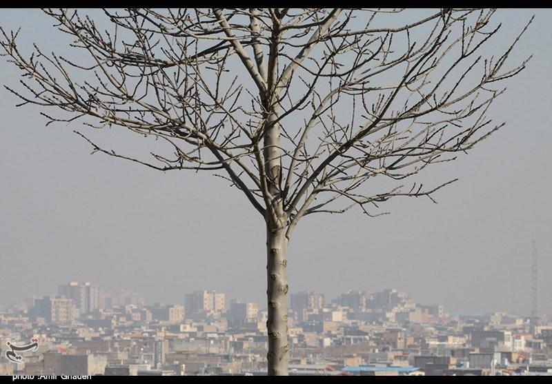 هوای غبارآلود در اراک