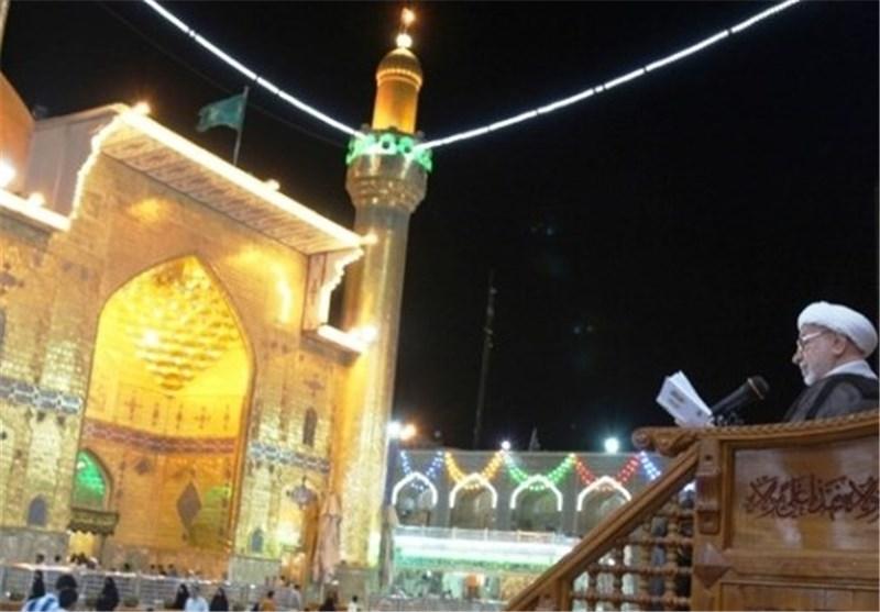 مرقد الامام علی (ع) بالنجف الاشرف