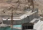 سد نعمتآباد اسدآباد 65 درصد پیشرفت دارد