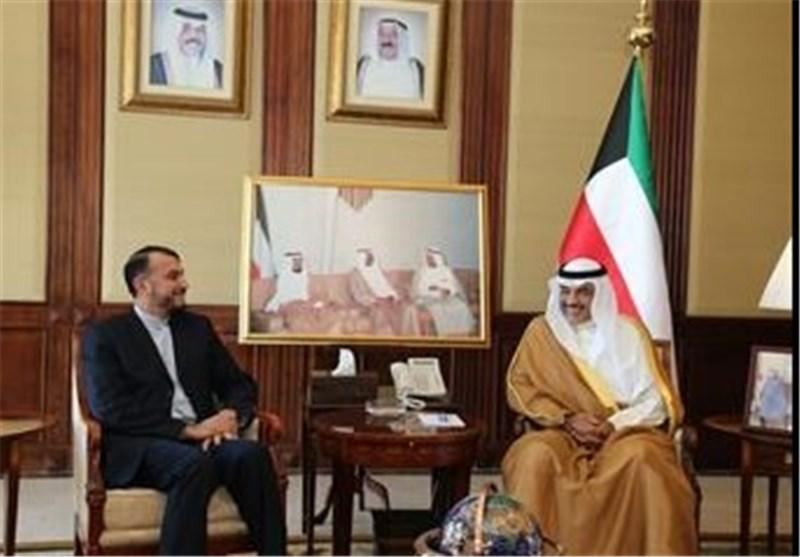وزیر خارجیة الکویت و عبداللهیان : تقسیم العراق أمر خطیر والارهاب یهدد المنطقة والعالم