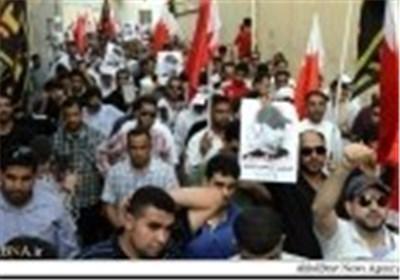 عشرات الآلاف من المواطنین تشیع الشهید «العبار» الذی قتلته قوات نظام البحرین