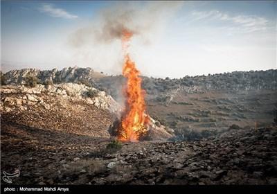 Fire Burns Parts of Iran's Golestan National Park